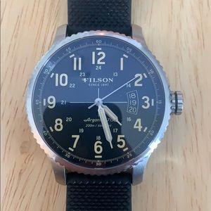 Filson/Shinola Mackinaw Field Watch